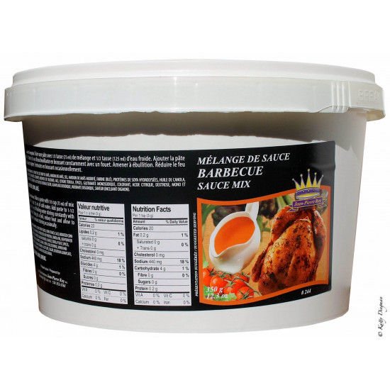 Mélange Sauce Barbecue BBQ Distributions Jean-Pierre Roy 2.27kg