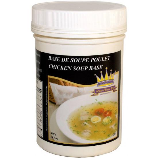 Base Soupe Poulet   Distributions Jean-Pierre Roy 400g