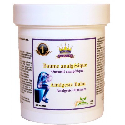Baume analgésique Distributions Jean-Pierre Roy 100g