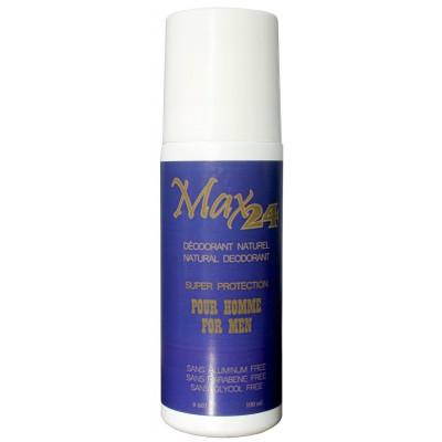 MAX24 Déodorant Naturel pour Hommes