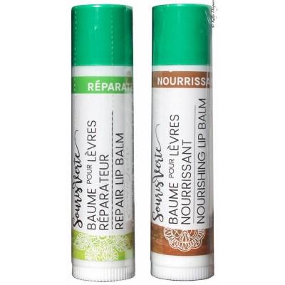 Baume à Lèvres Bio Nourrissant  Souris Verte 5g