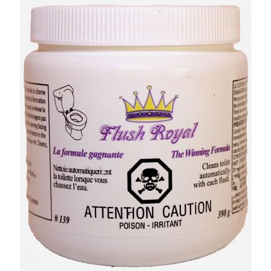 Flush Royal Nett. à toilette sans frottage Dist. Jean-Pierre Roy