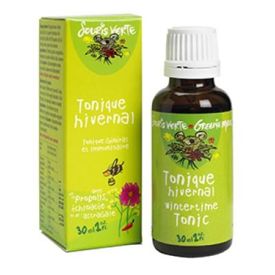 Tonique Hivernal Bio Souris Verte - Distributions Jean-Pierre Roy