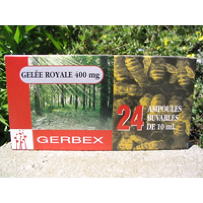 Gelée Royale Forte concentration 24ampoules 400mg