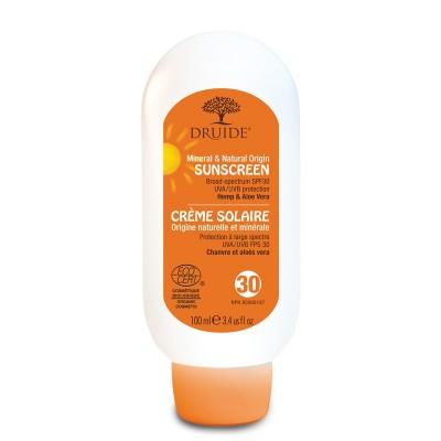 Crème Solaire FPS30 Minérale Biologique 100ml