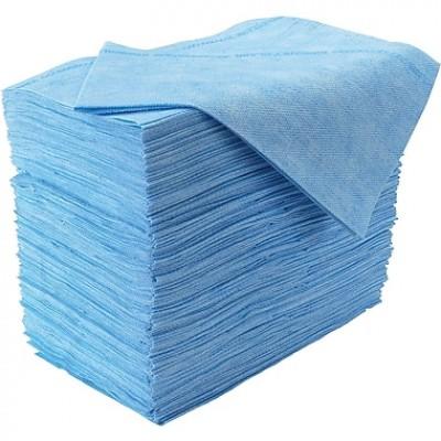 "Linge chiffon Microban Bleu Chix 12""x 24""  10 pqt"