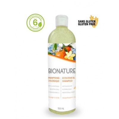 Ecological Shampoo Orange Blossom & Vanille 500ml