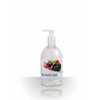 Shampooing Corporel BioNature Corps & Cheveux Fruité 500ml