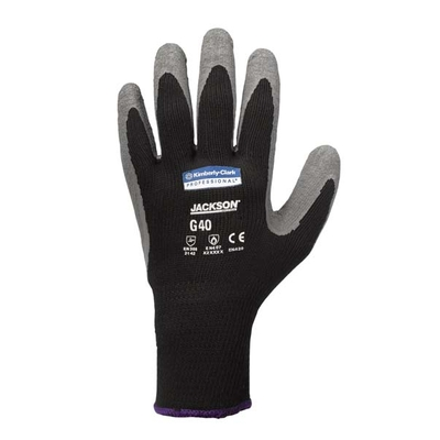 GANTS LATEX GRIS/NOIR G40 LKLEENGUARD