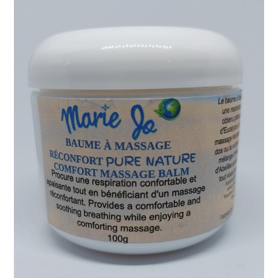 Baume à Massage Réconfort Pure Nature Marie Jo 100g