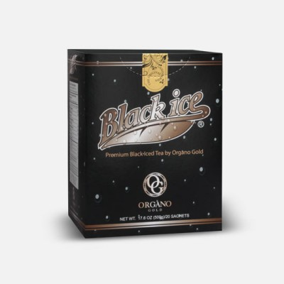 Thé Noir Glacé Organo 20 sachets