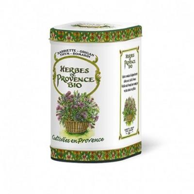 Herbes de Provence Bio Boîte Métal de luxe 100g
