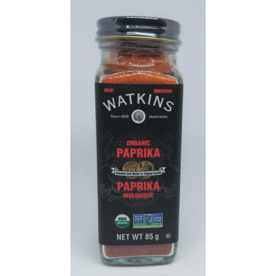 Paprika Biologique Watkins 85g