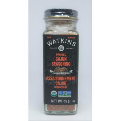 Assaisonnement Cajun Biologique Watkins 65g