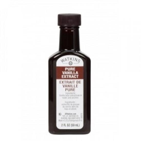 Extrait de Vanille Pure Bourbon de Madagascar Watkins - Certifée Biologique USDA 59ml/2oz