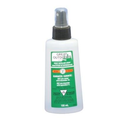 Chasse-moustiques pour enfants en pulvérisateur Watkins 150ml