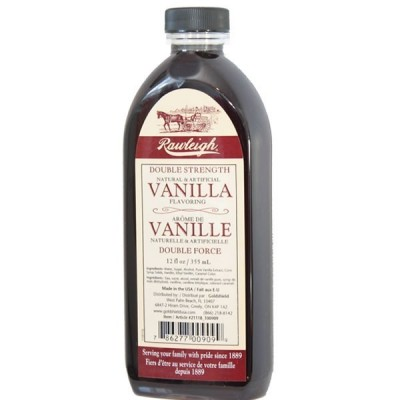 Vanille Brune Double Force Rawleigh  355 ml